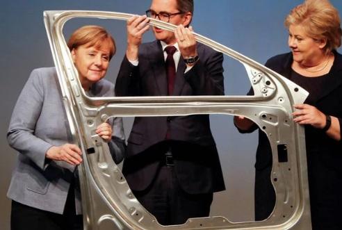 El cambio estructural en la industria automotriz está pesando sobre la economía alemana