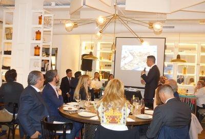 D. Alejandro Murat, gobernador de Oaxaca, preside la cena de degustación Oaxaca para periodistas y empresarios españoles