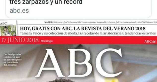 Periodismo de trinchera en ABC