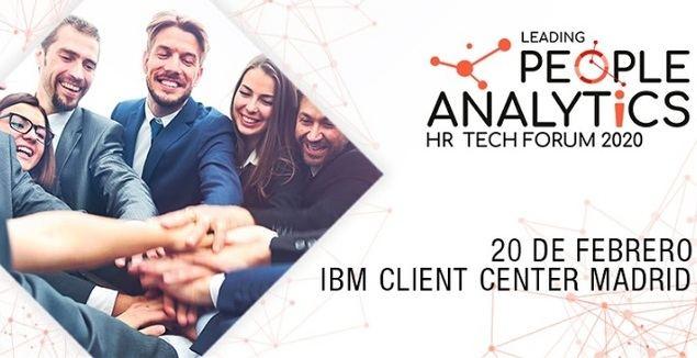 Repsol, Cabify, IBM y Sacyr se suman al evento Leading People Analytics HR Tech Forum 2020