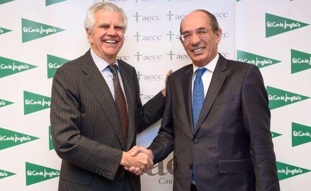 El Corte Inglés financiará con un millón de euros un nuevo proyecto de la AECC sobre cáncer de mama