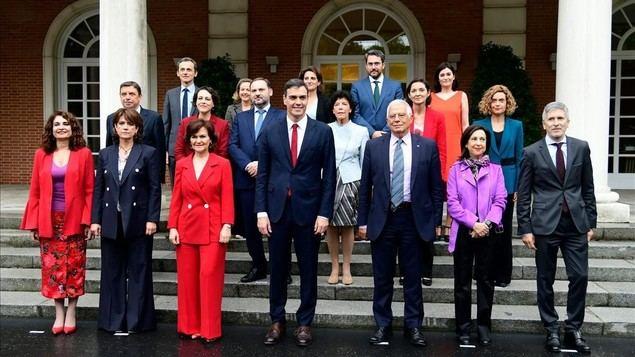 En La Moncloa hay más ministros que nunca.