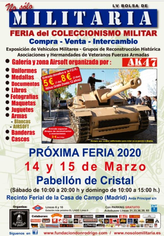 En marcha la Feria 'No solo Militaria', referente nacional en colecccionismo militar