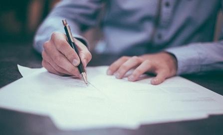 Tramitación de notas simples y otros documentos legales vía online