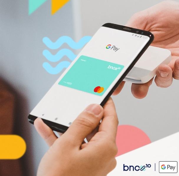 La Fintech bnc10 lanza Google Pay para sus usuarios