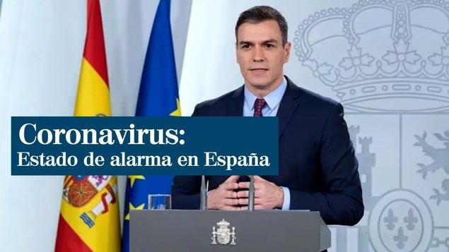 Estado de alarma en España