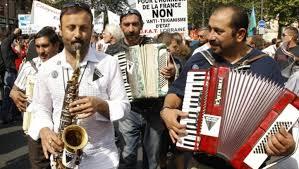 Músicos búlgaros.