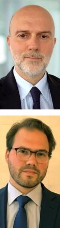 Arriba, Giacomo Barisone, debajo, Alvise Lennkh, del equipo de Scope's Public Finance.
