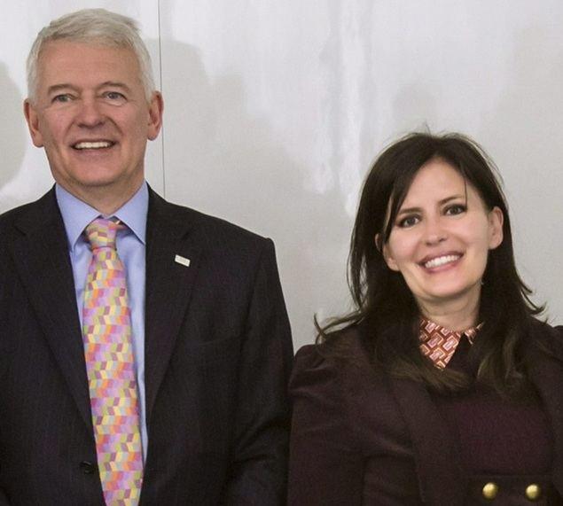 Simon Culhane y Rosa Mateus directora del CISI en España