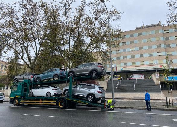 Hyundai cede a varios hospitales de la Comunidad de Madrid su flota de vehículos a través de la iniciativa #YoCedoMiCoche