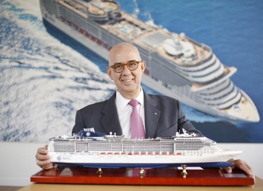 Fallece por coronavirus Emiliano González, presidente de MSC Cruceros España