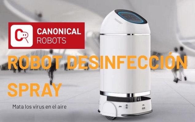 Nuevos robots para luchar contra la pandemia del Covid-19