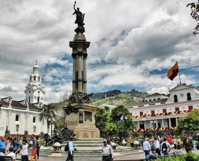 Quito, capital de Ecuador.
