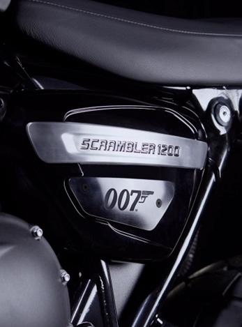 Triumph saca al mercado la moto de James Bond