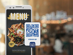 SocialwiBox ofrece digitalizar gratis las cartas de todos los restaurantes con un código QR