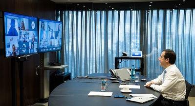 Gonzalo Gortázar inaugura la Comunidad Mujer Empresaria CaixaBank.