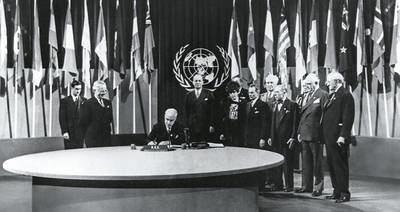 Crisis y decadencia de la ONU
