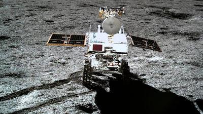 El explorador lunar chino recorre 463 metros de cara oculta de la Luna