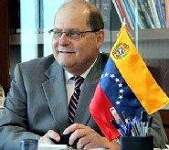 Exmo. Sr. D. Bernardo �lvarez, embajador de Venezuela en el Reino de Espa�a.