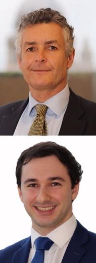 Arriba, Stuart Podmore, experto en finanzas del comportamiento de Schroders, y debajo, Sean Markowicz, analista del equipo de Investigación y Análisis.