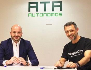 ATA y SingularCover se alían con el objetivo de reducir el número de autónomos sin asegurar