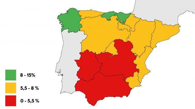País Vasco, Cantabria y Galicia lideran el mapa de las compra-ventas de segunda mano en España