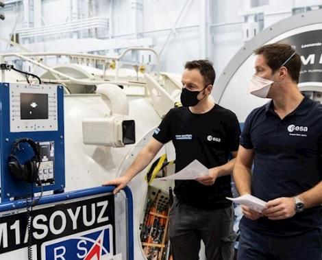 Thomas Pesquet, primer europeo en viajar a la Estación Espacial Internacional en un cohete Dragon