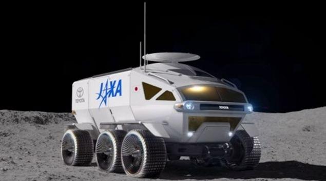LUNAR CRUISER, el vehículo de exploración espacial tripulado de Toyota y JAXA