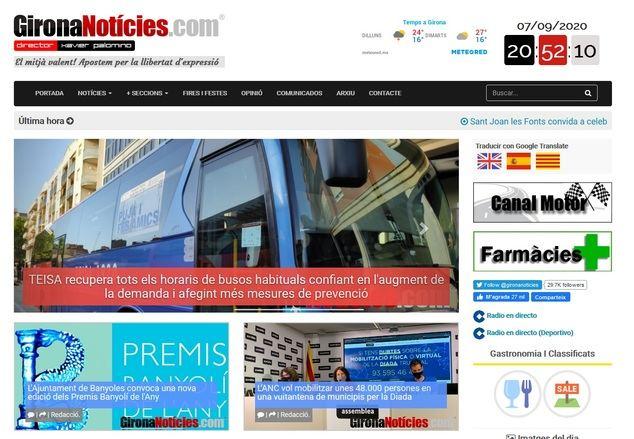 GironaNoticíes alcanza los 15 años de vida con más visitas e influencia