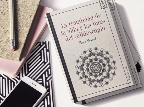 La escritora zaragozana Blanca Monreal presenta La fragilidad de la vida y las luces del calidoscopio. Un poemario existencial expuesto como un laberinto de espejos