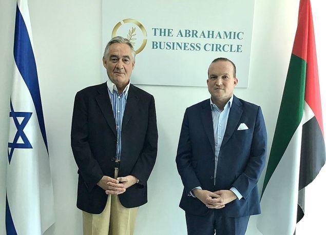 De izquierda a derecha, Tillmann Lauk y Raphael Nagel, fundadores del ABC.