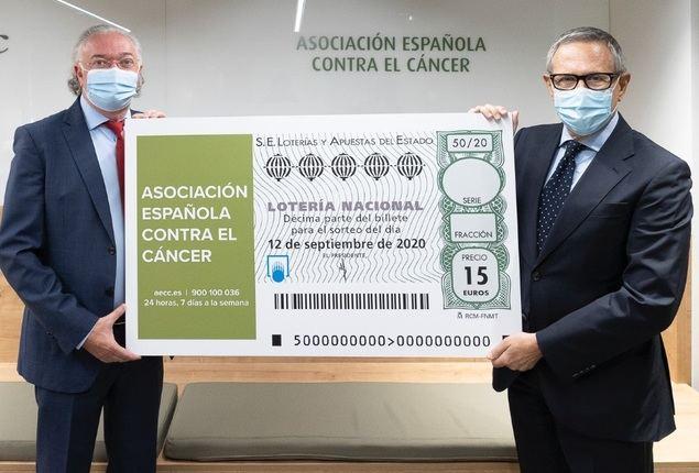 Loterías y la AECC presentan el sorteo extraordinario de loterias en apoyo ade la AECC