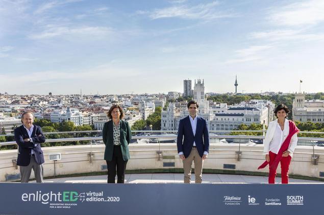 Fundación Telefónica, IE University, Fundación Santillana y South Summit organizan la 3ª edición de enlightED Virtual Edition 2020
