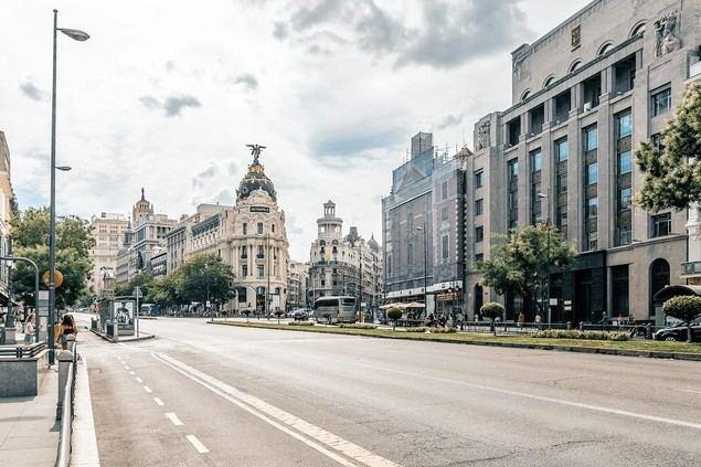 Confinados y confitados en Madrid