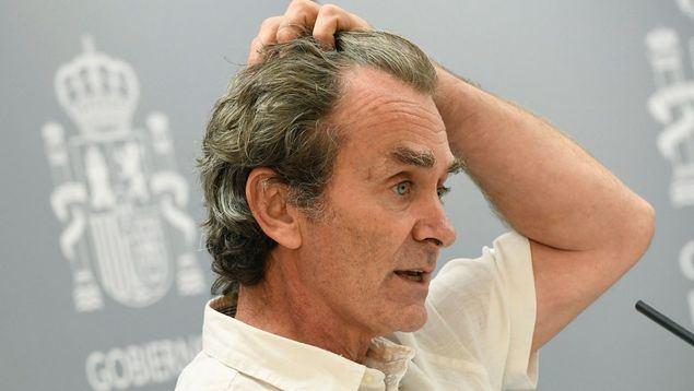 Fernando Simón ha sido durante meses la única voz del gobierno de cara a los españoles.