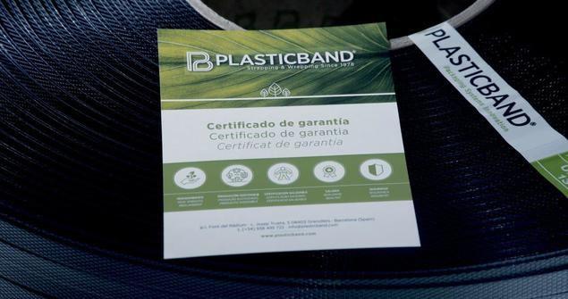 Plasticband lanza el primer fleje ecológico fabricado con material 100% reciclado