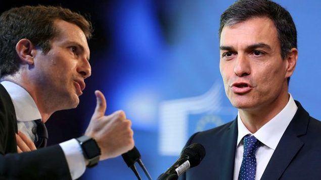 PP y PSOE parecen querer intentar resucitar el zombi del bipartidismo, y hacen esfuerzos para su encuentro por encima de los nuevos partidos emergentes, como Podemos o VOX.