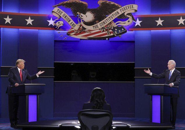 Trump y Biden chocan sobre Corea del Norte en el último debate de las presidenciales