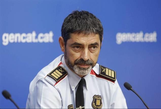 El policía español José Luis Trapero Álvarez, que logró la graduación de comandante de los Mozos de Escuadra (policía autonómica de Cataluña) y llegó a ser jefe de este cuerpo en 2017.