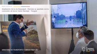 Ampliación de la vía Guayaquil – Machala se apuntala con la concesión de tercer tramo Naranjal – Tenguel