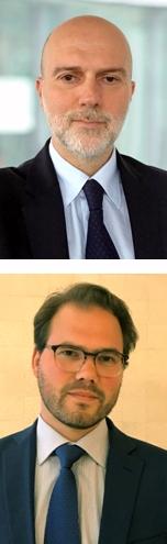 Arriba, Giacomo Barisone, jefe de calificaciones soberanas, debajo, Alvise Lennkh, analista de Finanzas Públicas de Scope Ratings.