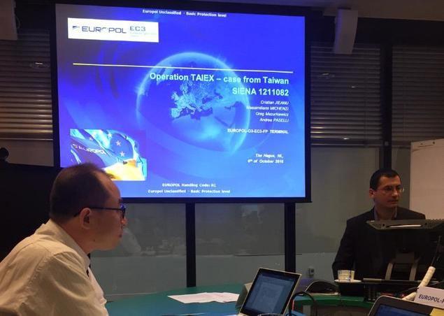 La Europol invitó al Buró de Investigación Criminal de Taiwán a constituir conjuntamente la Operación TAIEX para luchar contra las organizaciones cibercriminales.