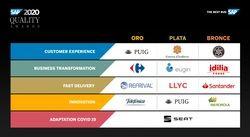 Carrefour, Puig, Refrival y Telefónica, ganadores de los SAP Quality Awards