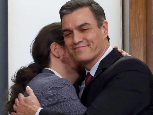 Populismos Trump-Maduro, Iglesias-Sánchez