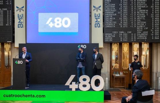 Cuatroochenta recibe el apoyo del Fondo Smart de Banco Santander