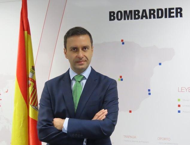 David Torres, nuevo presidente de Bombardier España