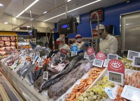 España: el gasto en supermercados en Navidad resistió pese al Covid