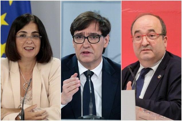 Iceta, Darias, Don Tancredo y Tentetieso