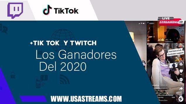 Twitch y TikTok, los reyes del 2020