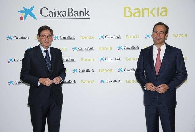 José Ignacio Goirigolzarri y Gonzalo Gortázar.